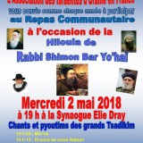 hiloula de Rabbi Shimon Bar Yohai 2018 ok